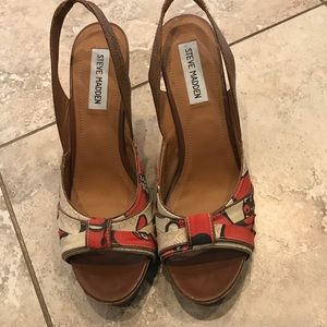 Steve Madden Platform Sandal Heel